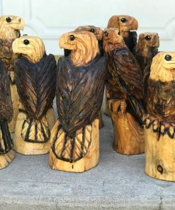 1ft Eagle Chainsaw Carvings