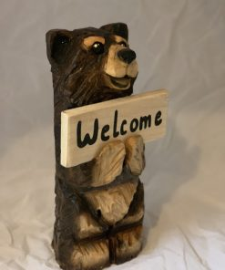small welcome bear