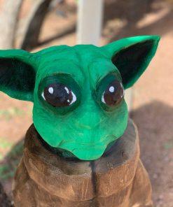 Baby Yoda Sculpture